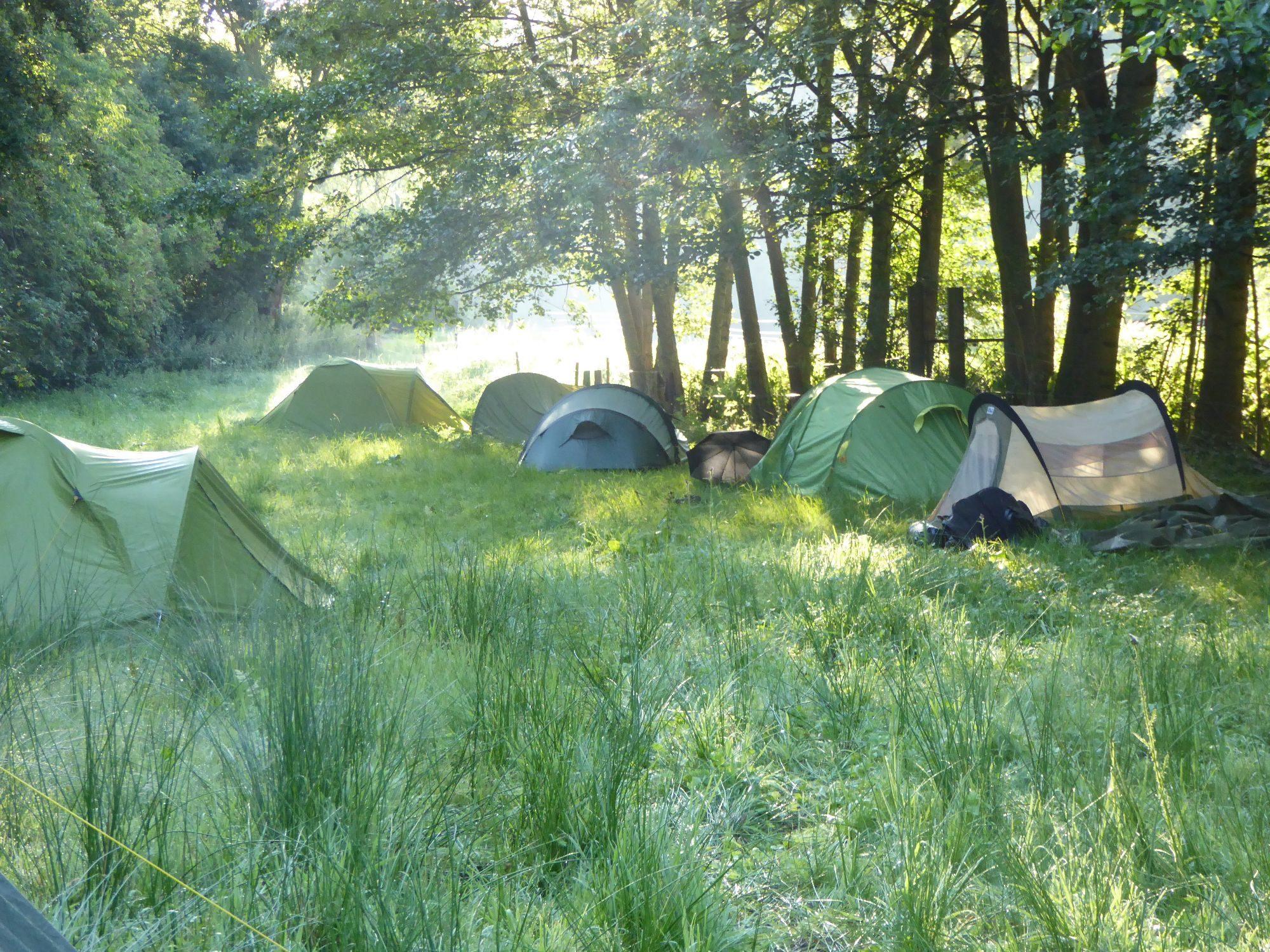 Friedensritt Zelte